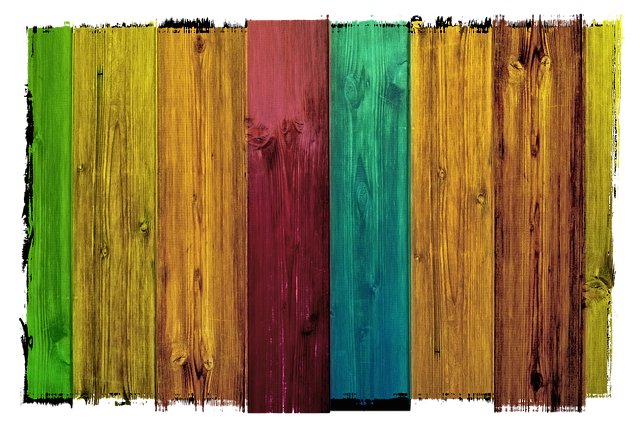 barva na dřevo